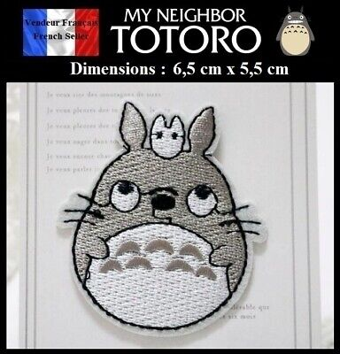 Écusson Brodé Thermocollant NEUF ( Patch Embroidered ) - Manga Totoro ( Ref 6 )