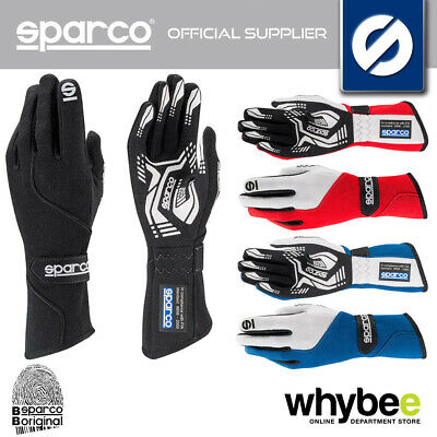 001306 Sparco Force Rg-5 Racing Gloves Ultra Slim Fitting Fireproof - 3 Colours!