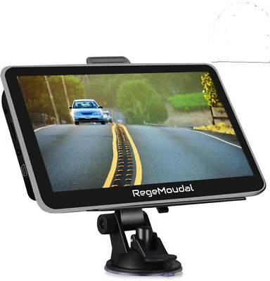 Sat Nav, RegeMoudal Car GPS 7 Inch Touch Screen Navigation for System 8G...