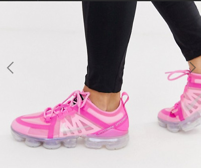 NIKE AIR VAPORMAX 2019 Women's Trainers Psychic Pink Silver