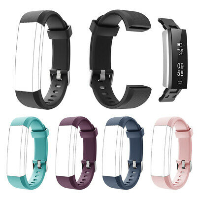 Replacement Sports Soft Silicone Watch Band Wrist Strap for ID115U HR Soft
