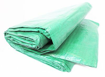 Tarpaulin Sheet Tarp Cover Ground Sheet Waterproof 5.4m x 7m / 18ft x 24ft TL010