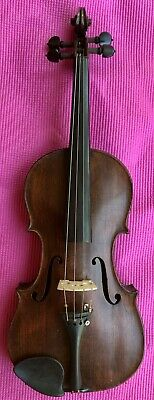 Antique Old Smaller Sized Violin Nice Wall Hanger Or Play