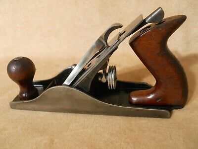 VINTAGE 10 in. SARGENT WOOD PLANE-NO.409 -CARPENTERS WOOD PLANE TOOL-NICE COND.