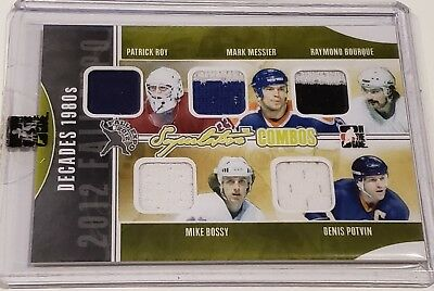 ITG 2012 Fall Expo - Decades 80s - Roy, Messier, Bourque, Bossy and Potvin 3/9