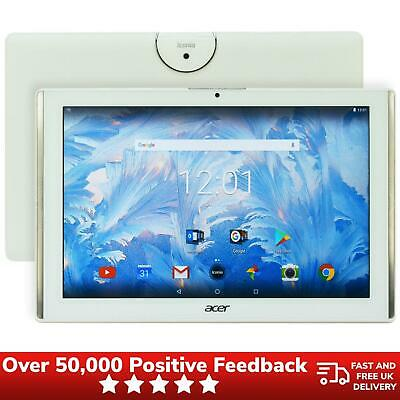"""Acer Iconia One 10 (B3-A40) 10.1"""" 16GB WiFi Android Tablet White"""