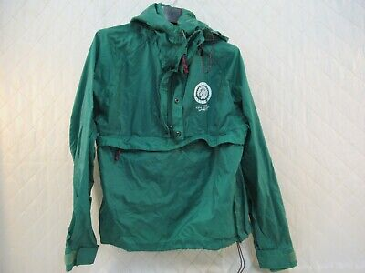 Eastern Mountain Sports EMS Half Zip Jacket Vtg 90s City Vancouver Green Mens S