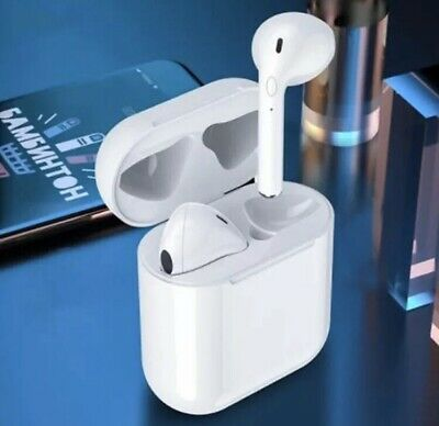 TWS Apple AirPods NEW Style Wireless Earbuds with Charging Case Headphones