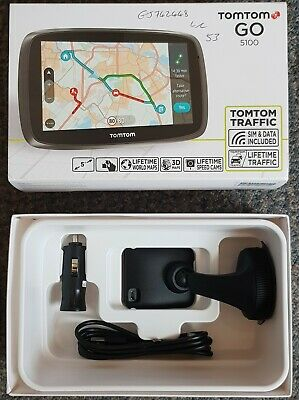 TomTom Click and Go Mount Car Charger and USB Cable For  GO 500/GO 510/GO 5000