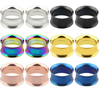 1pcs Stainless Steel Tunnel Expander Stretcher Ear Plug Piercing Jewelry Soft