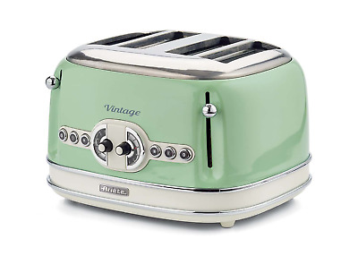 Ariete 156/04-green Toaster which is Designed for Four Slices Green