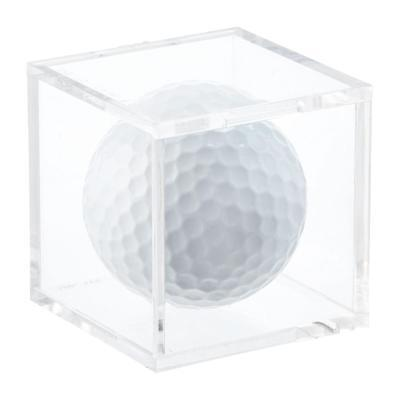 One (1) Golf Ball Stackable Clear Acrylic Display Cube (ball not included)