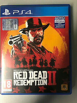 Sony Playstation 4 Ps4 Red Dead Redemption 2 Pal Italiano ☆