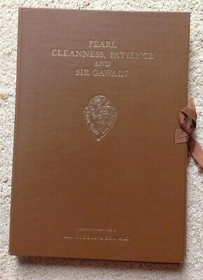 Pearl, Cleanness, Patience & Sir Gawain Facsimile Manuscript Cotton Nero A.x