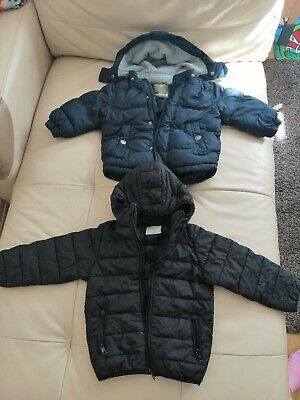 Timberland Puffer jacket Infants 2years navy and black puffa hd kids 2-3 years