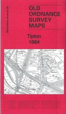 Old Ordnance Survey Map Tipton 1884
