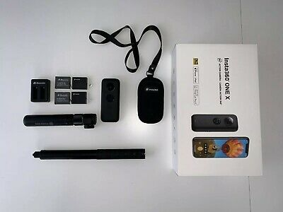 Insta360 ONE X 360 Pack + Invisible Stick + Bullet + 4 Baterias
