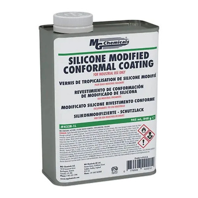 MG Chemicals 422B Silicone Modified Conformal Coating, 1L