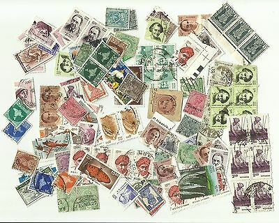India postage stamps x 287, used,  including Colonial issues