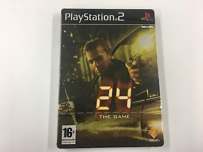 Sony 24 The Game Limited Edition (2006) For PlayStation 2 PS2 New Sealed UK PAL