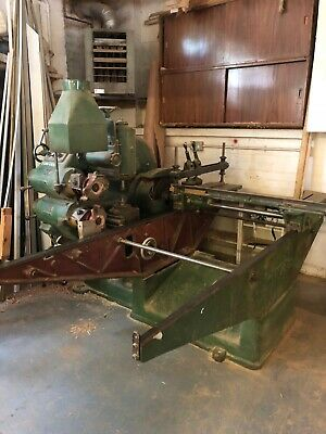 Wadkin 5 Head Tenoner With Cut Off Saw Wood Working Machine