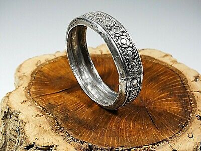 Solid Sterling Silver 18Th  19Th Century Napkin Ring Ornament