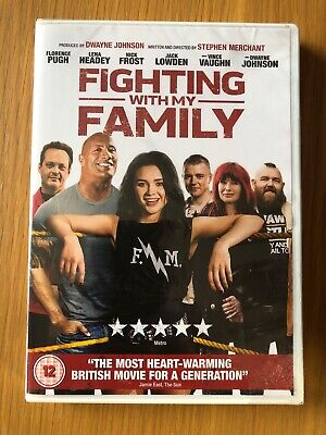 fighting with my family DVD Newand Sealed (2019)