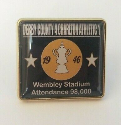 Derby County 1946 Fa Cup Final badge (2)