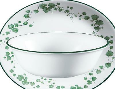 """*NEW COUPE STYLE* Corelle 18-oz CALLAWAY IVY BOWL 6 1/4"""" Soup Cereal *NO SWIRLS*"""