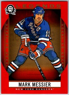 2018-19 OPC COAST TO COAST CANADIAN TIRE LEGENDS RED MARK MESSIER Card # 205 SP