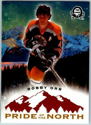 2018-19 OPC COAST TO COAST CT PRIDE OF THE NORTH BOBBY ORR SP Insert Card # P52