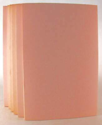 "Six (6) Write-On Light Pink 6"" X 9"" Tablets. 50 Sheets Each."