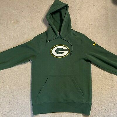 Nike NFL Green Bay Packers hoodie in green - small size