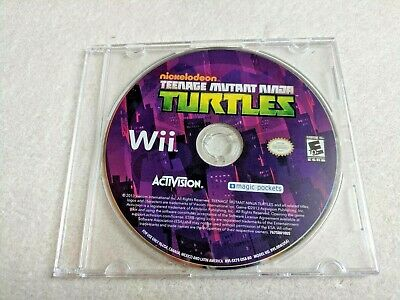 Teenage Mutant Ninja Turtles Video Game Nintendo Wii Nickelodeon DISC ONLY