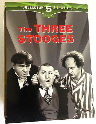 VHS, The Three Stooges: Collector 5 Pack Series 5 VHS Tapes