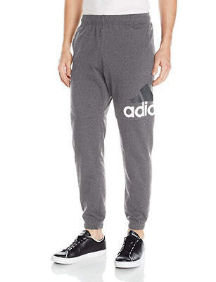adidas Men's Essentials Performance Logo Pants, NWT, Choose Size