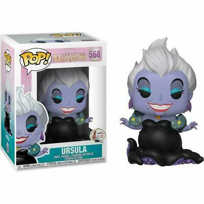 Funko Pop Disney The Little Mermaid Ursula w/ Eels #568 Vinyl Figure NIB