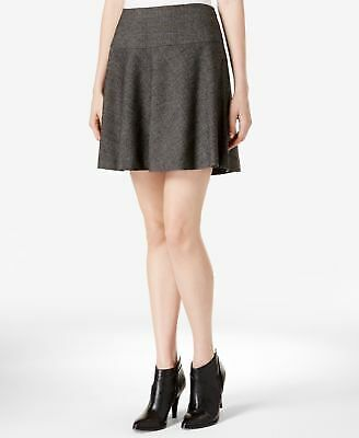 KENSIE $69 Womens New 1468 Gray Above The Knee A-Line Casual Skirt XL B+B