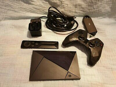 NVIDIA SHIELD 4K HDR Android TV Media Streamer (16Gb) & controller & remote