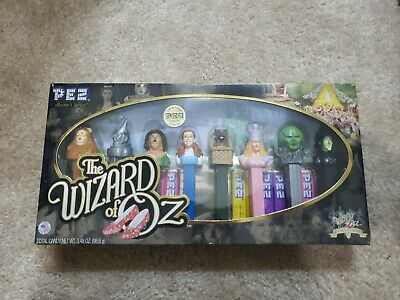 The WIZARD OF OZ Pez Dispenser 70TH Anniversary Collectors Set NEW IN BOX NR
