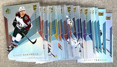 2018-2019 SP Authentic Hockey SPECTRUM FX - all cards UNSCRATCHED - YOU PICK