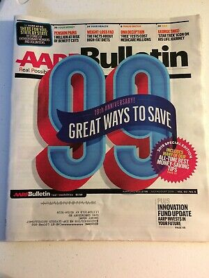 AARP Bulletin, July/August 2019, 10th Anniversary! 99 Great Ways To Save