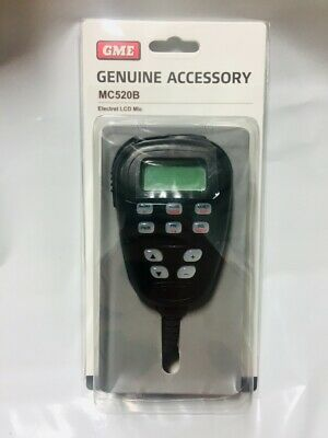 Gme Mc520B Lcd Microphone To Suit The Tx3440/ Tx3300 Series 40 Channels Only