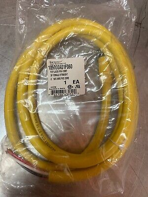 NEW Brad Harrison/Cutler Hammer Eaton 6' Cable 105000A01F060 5P Female Straight