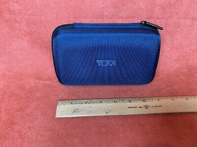 DELTA airlines First Class TUMI Soft Case Amenity Kit Blue used