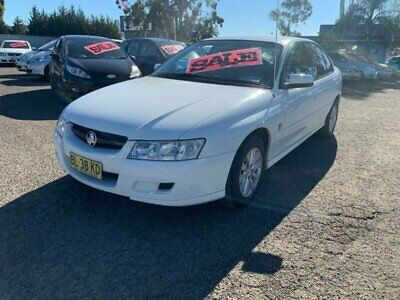 2005 Holden Commodore VZ Acclaim White Automatic 4sp A Sedan