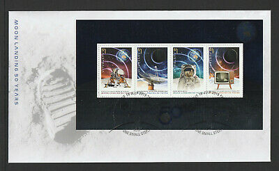 Australia 2019 : Moon Landing, 50 Years. First Day Cover with Minisheet