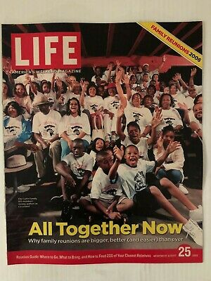 Family Reunions-Gaiter Family of Cleveland Life Magazine, August 25, 2006