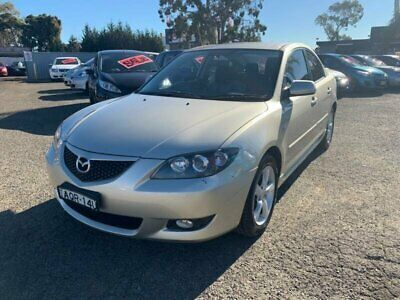 2004 Mazda 3 BK Neo Gold Automatic 4sp A Sedan