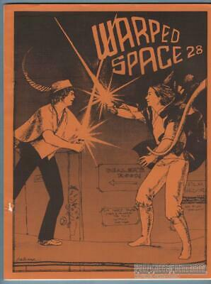 WARPED SPACE #28 sf fanzine STAR WARS Trek FANFICTION Joni Wagner WOOD 1977